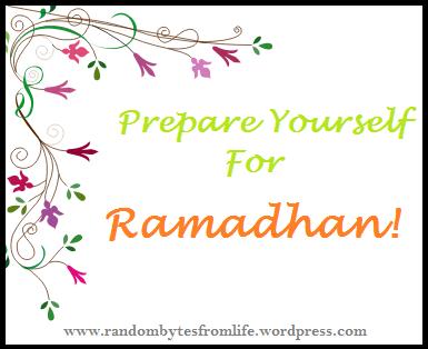 prepare for ramzan, ramadhan, islam