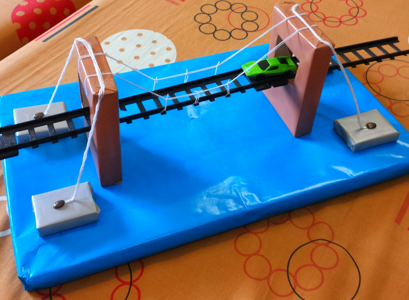 DIY Model Of A Bridge For Teens And Kids