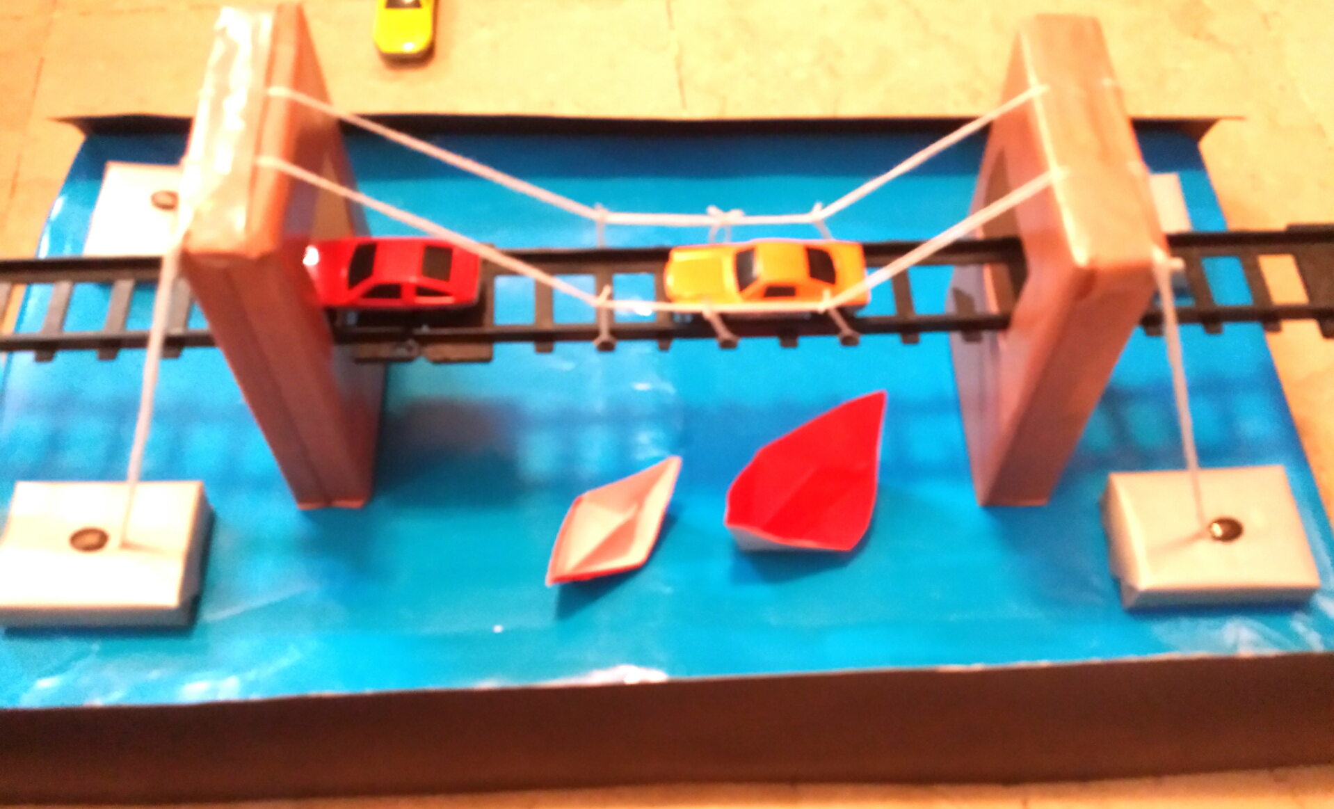 bridge, science project